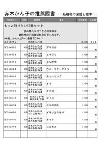 赤木かん子の推薦図書(新樹社)のサムネイル